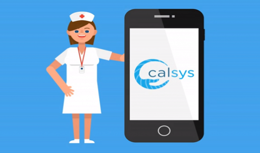 CALSYS mobile pictogram